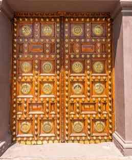door in barcelona spain