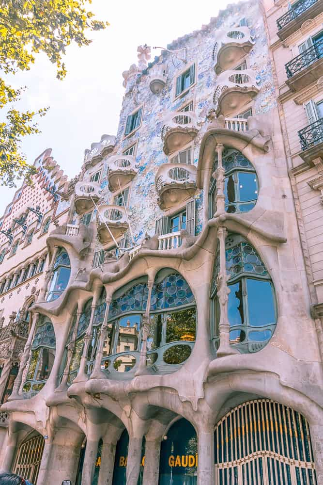 barcelona Casa Batlló - outside view
