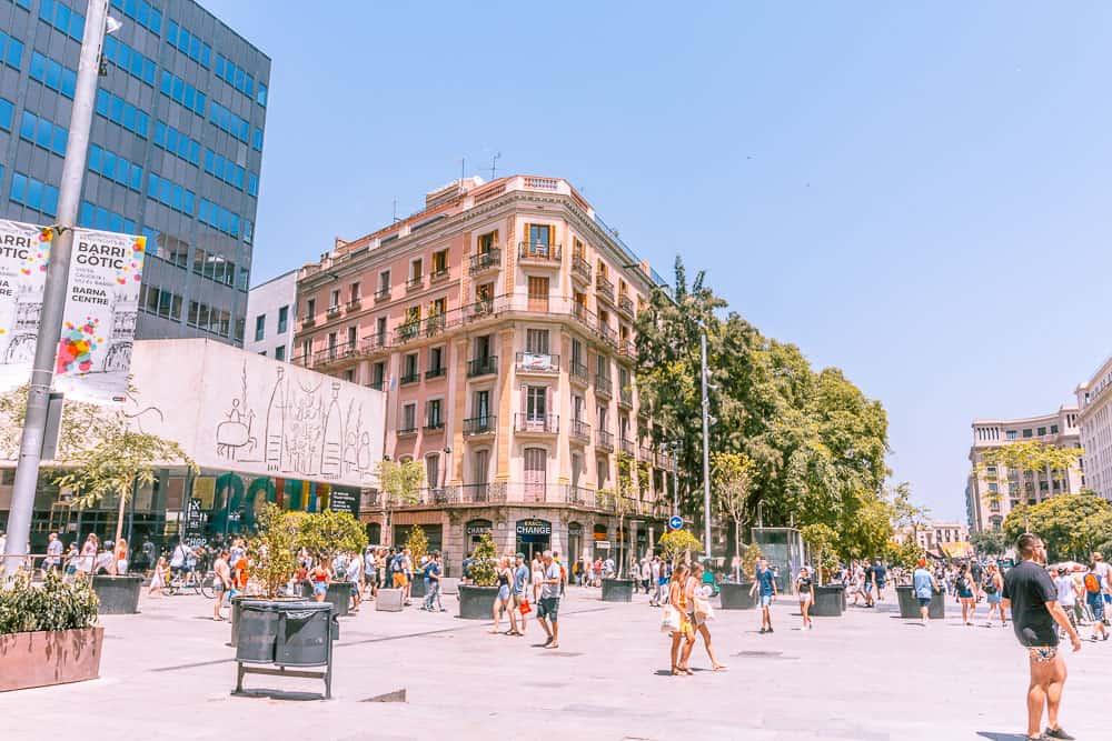 barcelona barri gotic centre