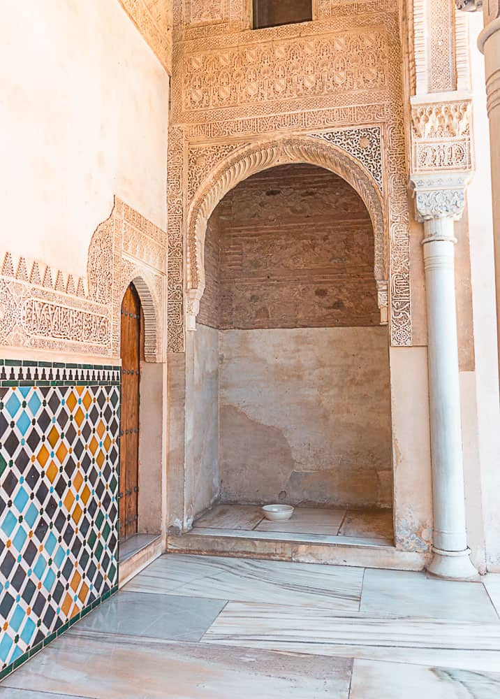 nasrid palace archway