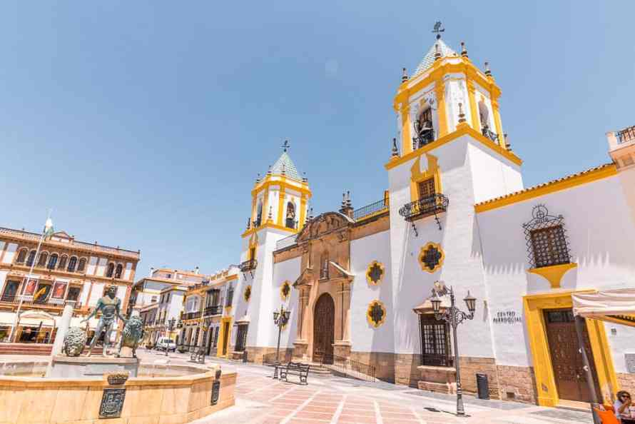 ronda-spain-church-Plaza del Socorro