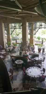 breakfast room at the kingdom hotel