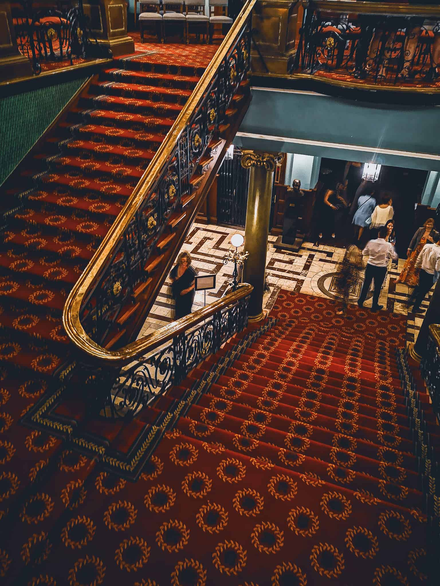 Rand Club Stairway