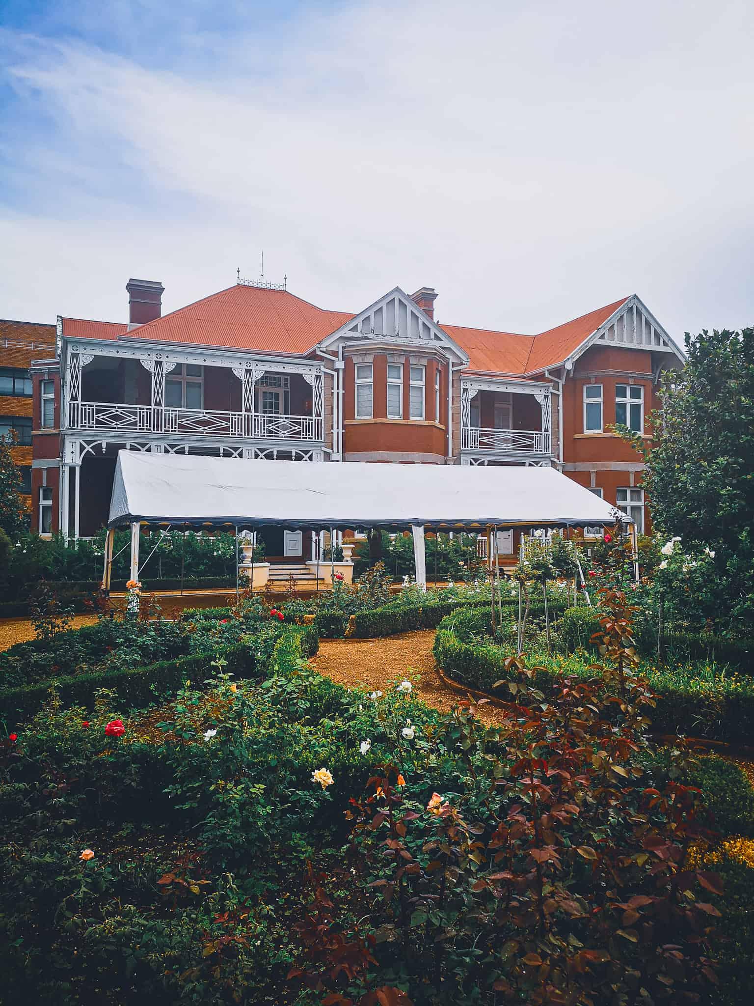The View Mansion Garden