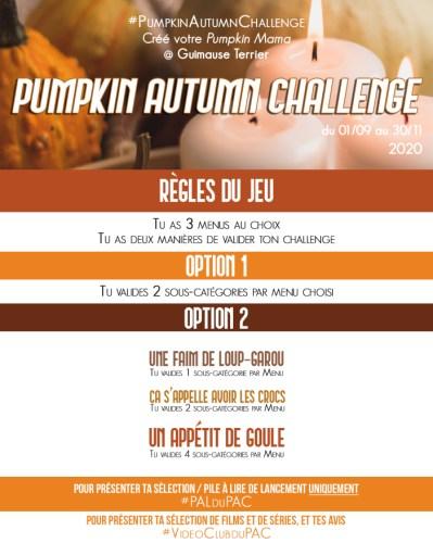 pumkin autumn challenge