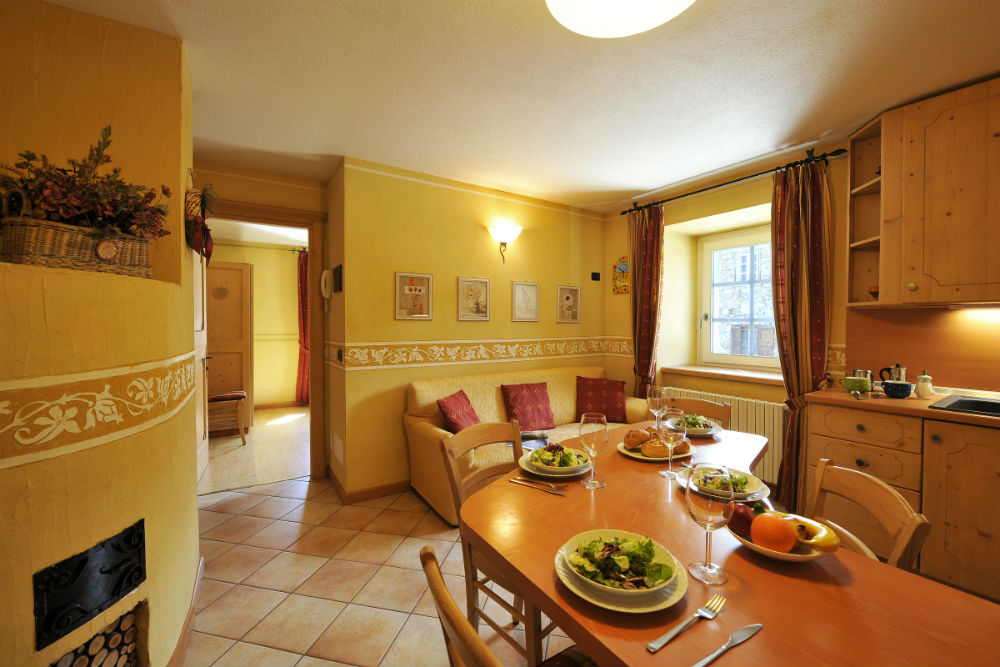 wintersport appartement italie