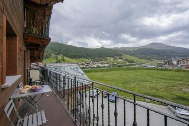 Scenic balcony