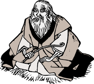 old man meditating by Pixabay