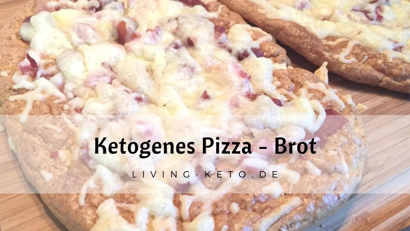 Ketogenes Pizza-Brot