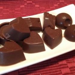 Ketogene Schokoladenpralinen