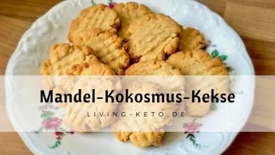 Read more about the article Ketogene Mandel-Kokosmus-Kekse