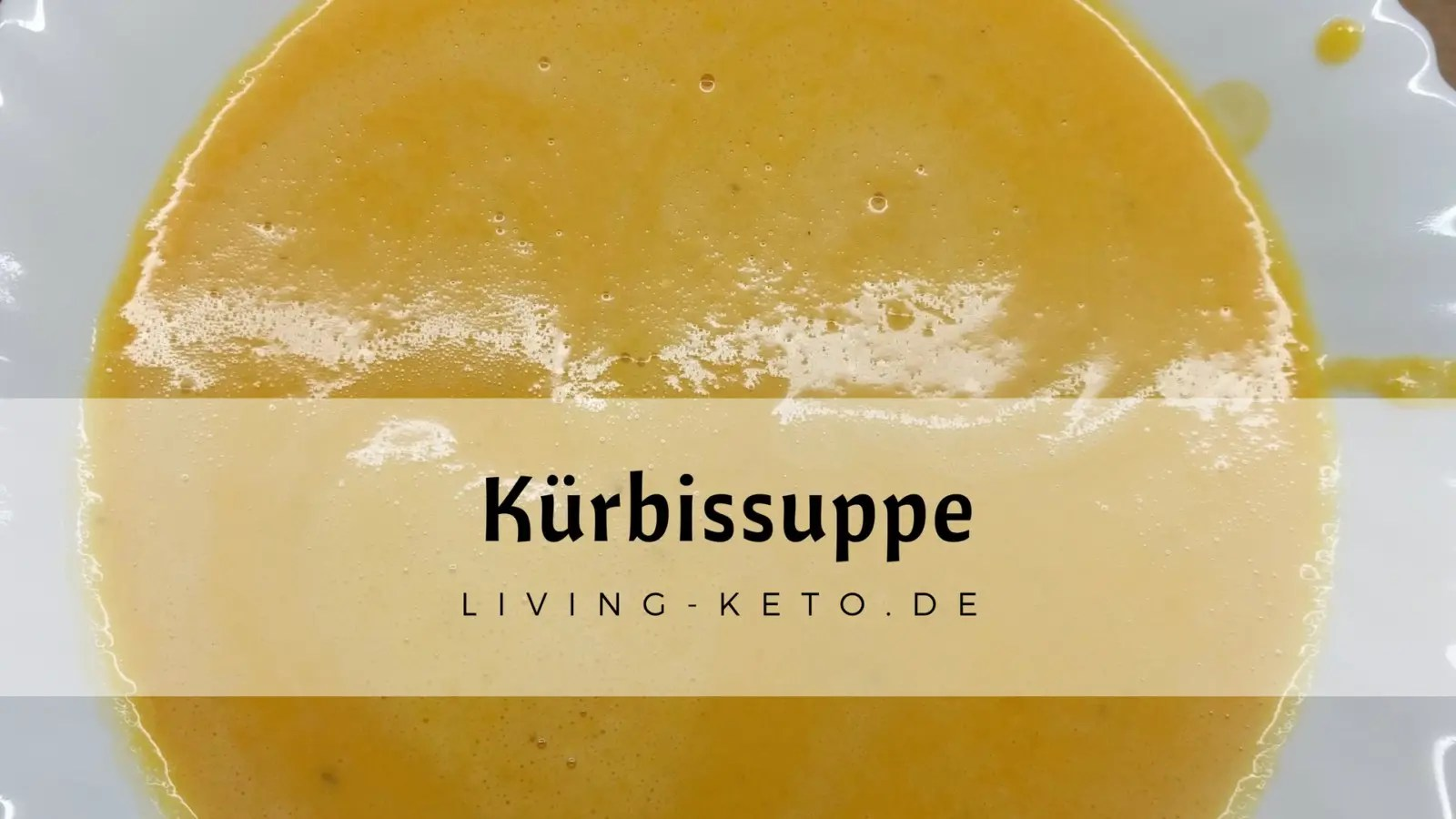 Read more about the article Keto Kürbis Suppe – mit Butternut