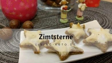 Zimtsterne – ketogene Weihnachtsbäckerei