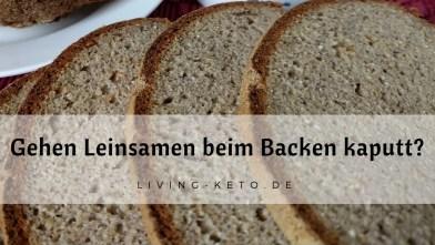 Read more about the article Gehen Leinsamen beim Backen kaputt?