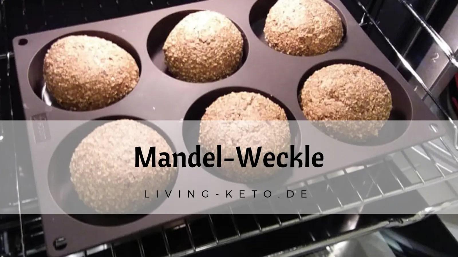 Mandel-Weckle – ketogene Brötchen