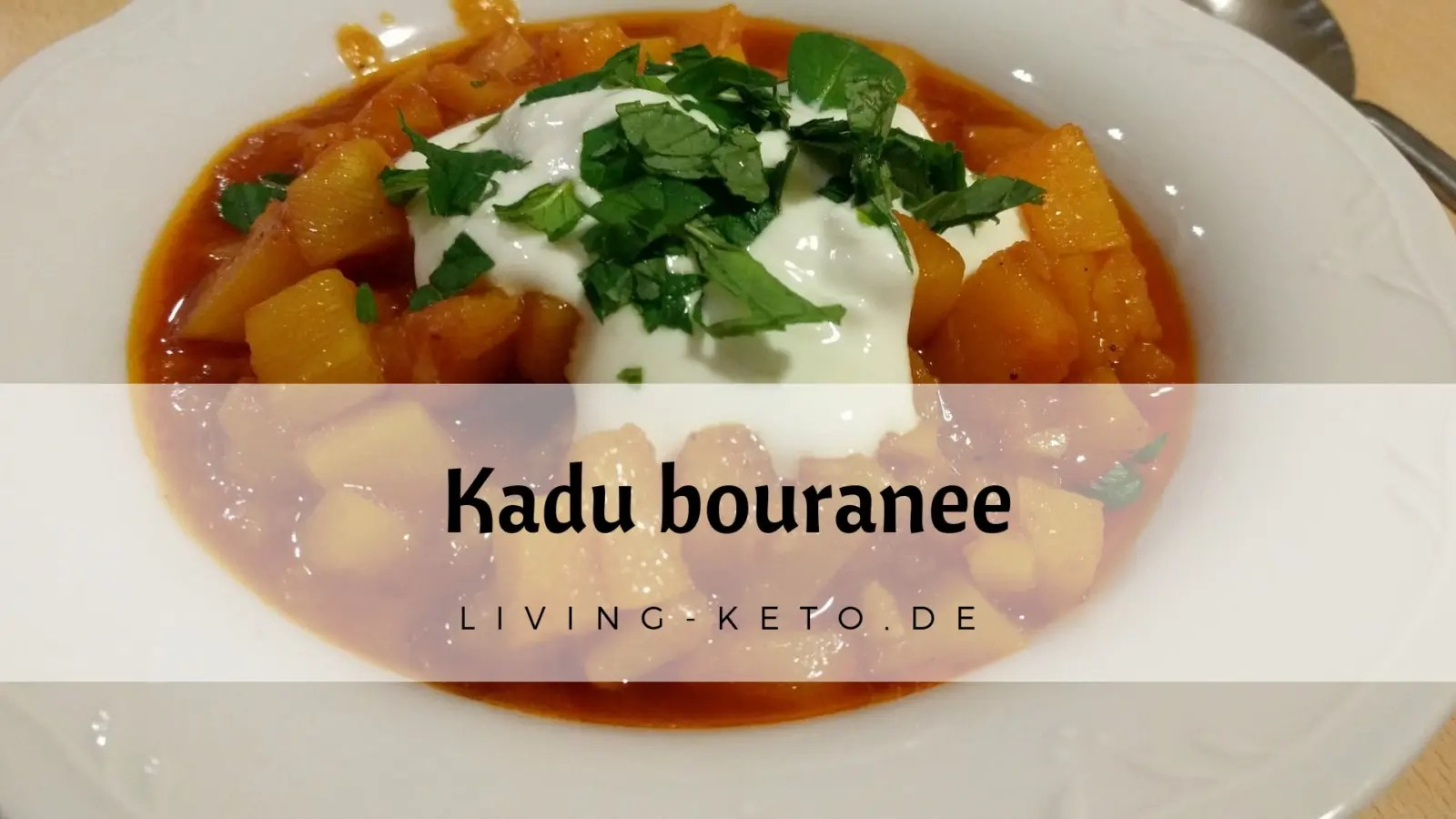 Kadu Bouranee – Kürbis auf afghanische Art