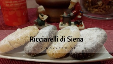 Read more about the article Ricciarelli di Siena – ketogene italienische Mandelkekse
