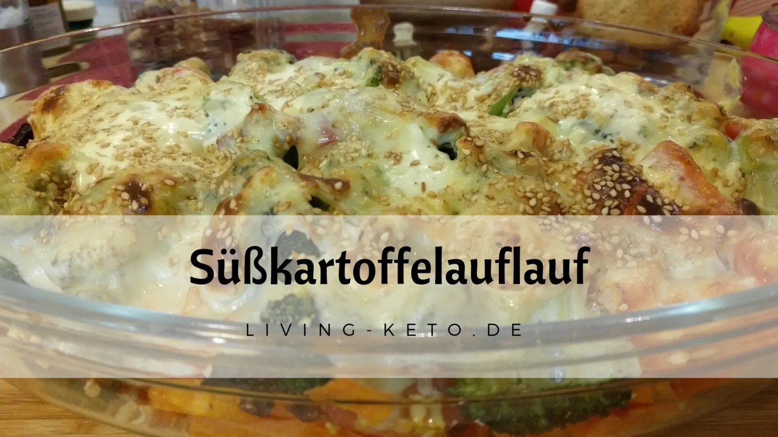 Read more about the article Süßkartoffelauflauf – Low Carb