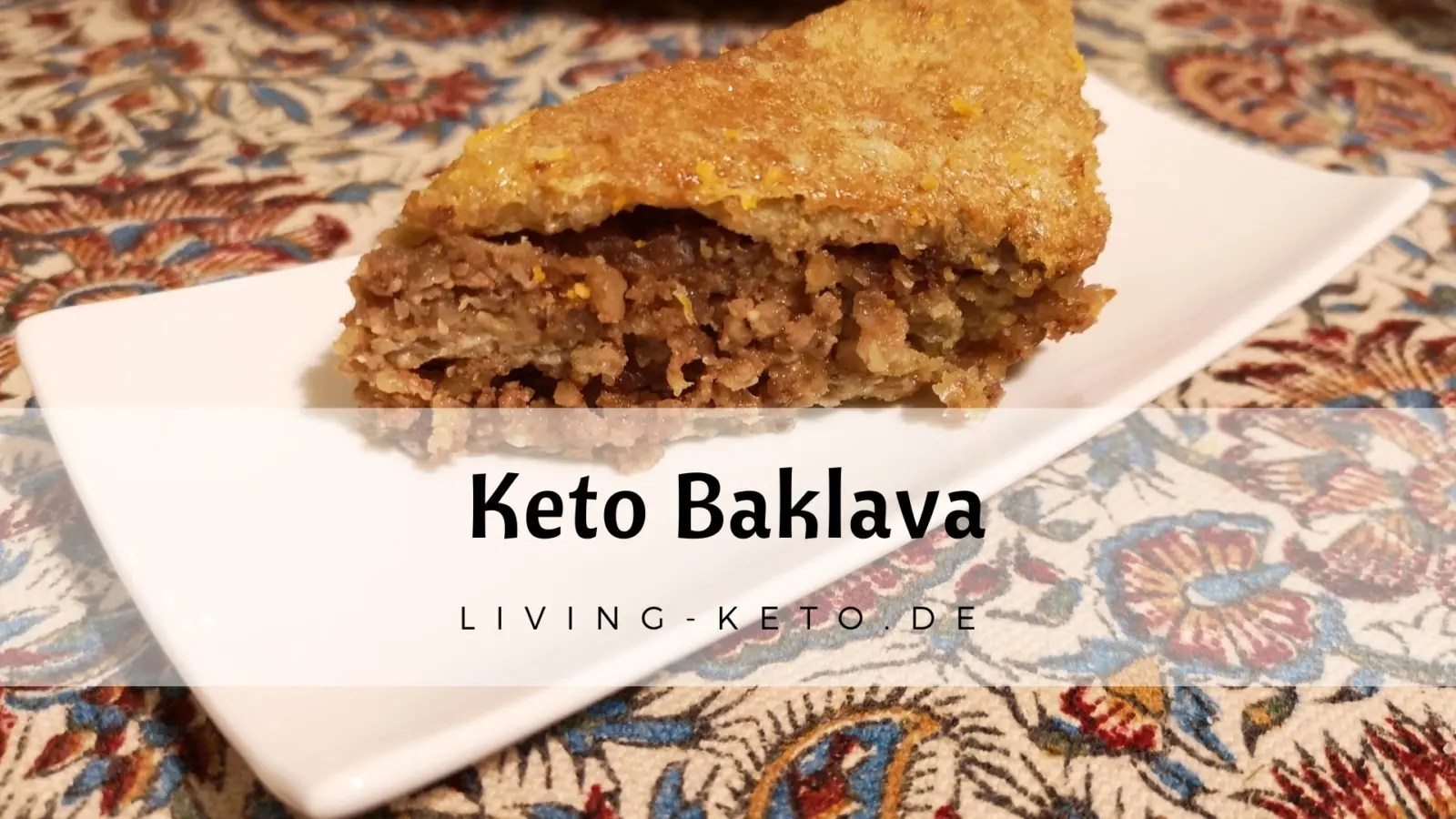 Read more about the article Keto Baklava – Low Carb und glutenfrei