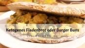 ketogenes Fladenbrot Burger Buns