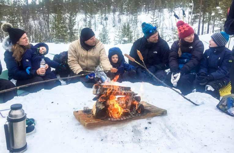 Skriv og fortel om kva du har gjort i vinterferien? (A2- B1)