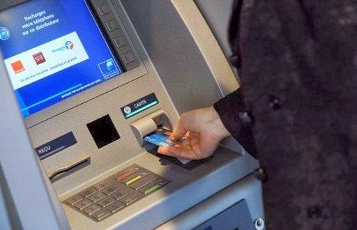 وضع نقود كاش في حساب شخص آخر عبر الصراف الآلي في النرويج