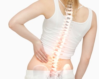 Woman with Sciatica Pain