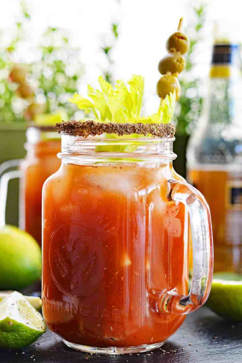 Michelada a/k/a the Beer Lover's Bloody Mary!