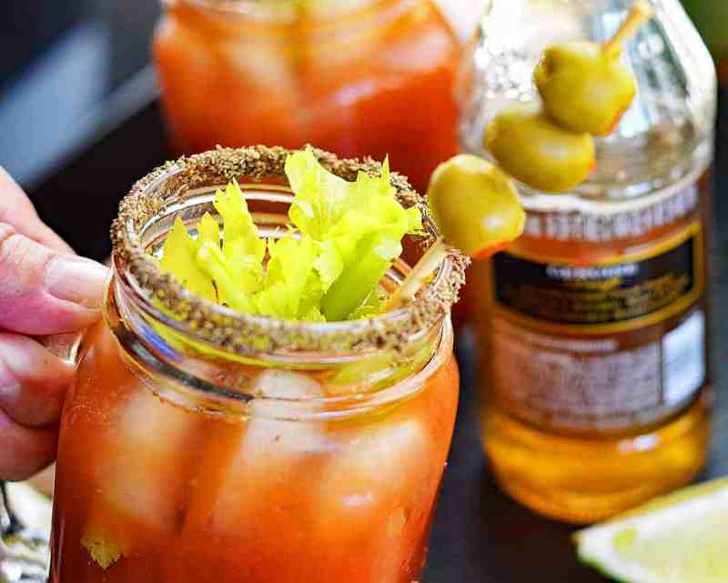 Michelada Tilt Michelada a/k/a the Beer Lover's Bloody Mary!