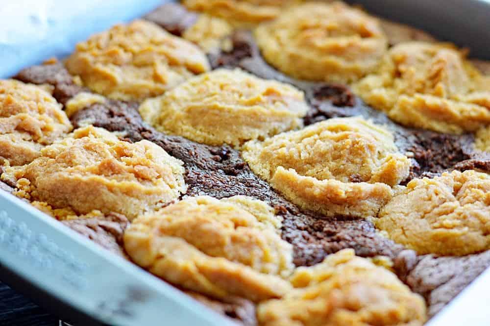 Vegan Peanut Butter Cookie Brownies
