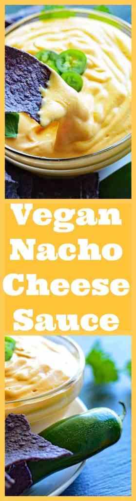 Vegan Nacho Cheese Sauce Long Pin