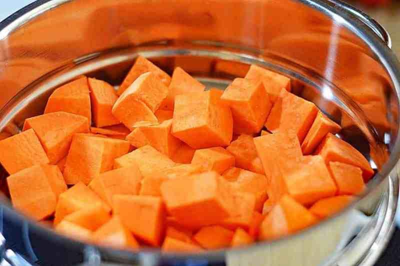 Creamy Vegan Sweet Potato Salad