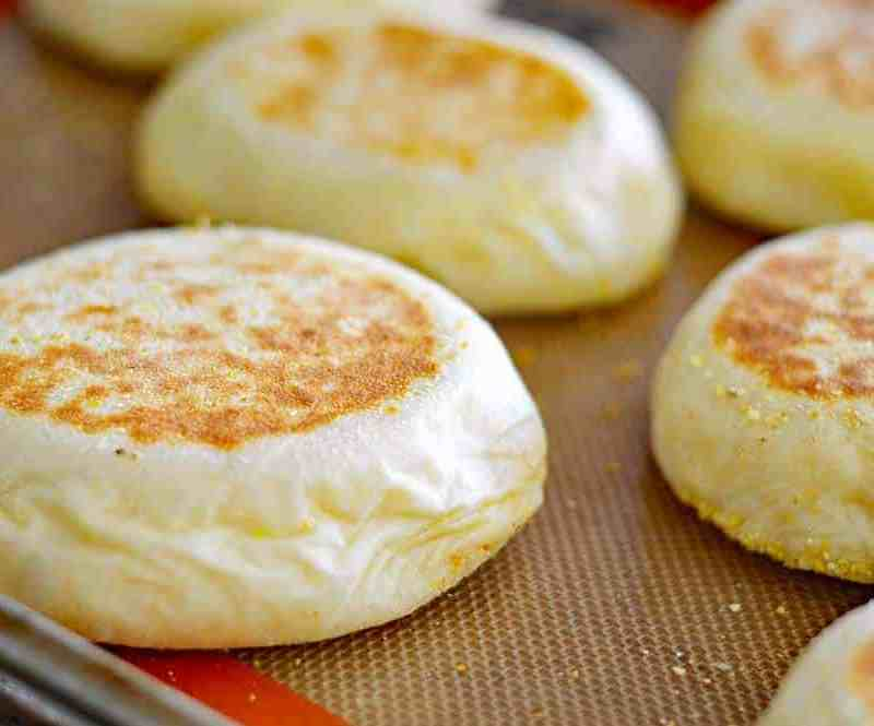 Homemade English Muffins {Vegan}