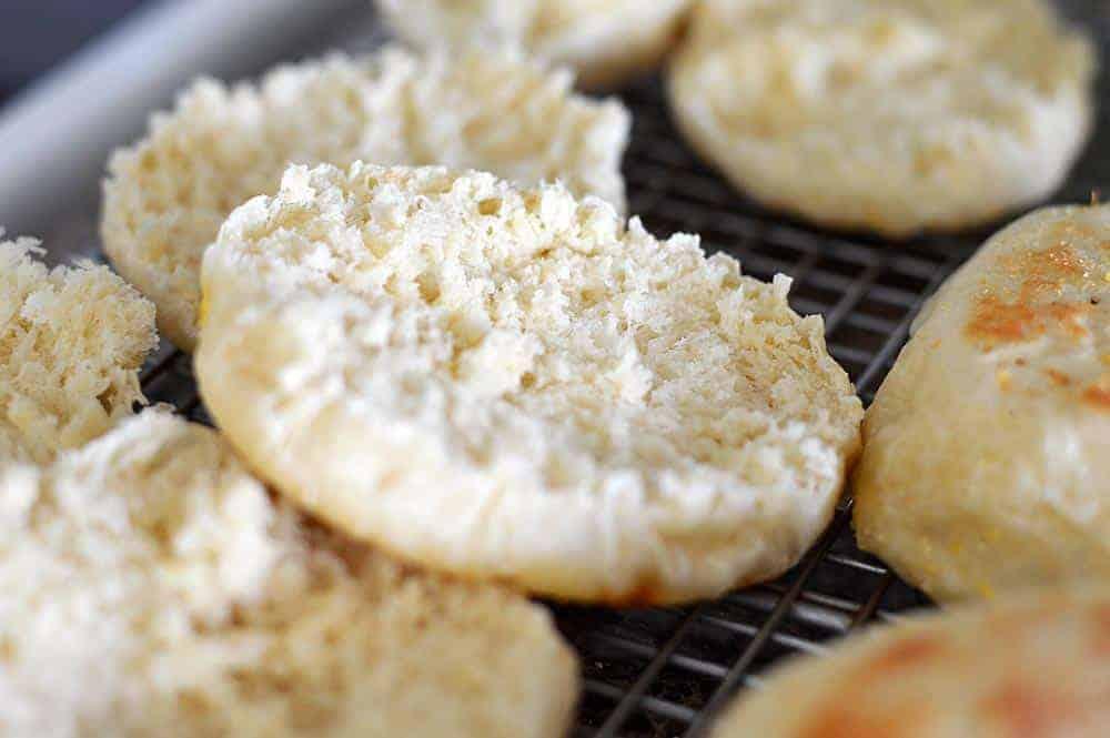 Homemade English Muffins {Vegan}