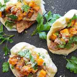 Vegan Five Spice Pumpkin & Jackfruit Bao Buns