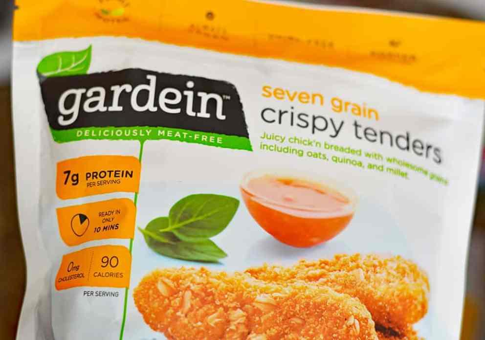 GARDEIN Bag of Crispy Tenders for Vegan Buffalo Crispy Tender Roll Ups