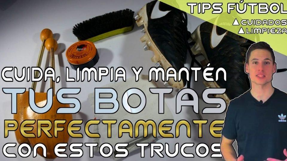 Cómo limpiar y cuidar tus botas de fútbol