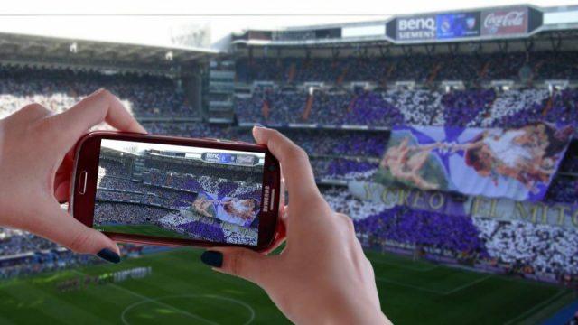 Grabar tu partido de fútbol de highlights