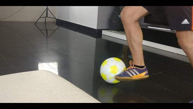 entrenamiento de futbol en casa