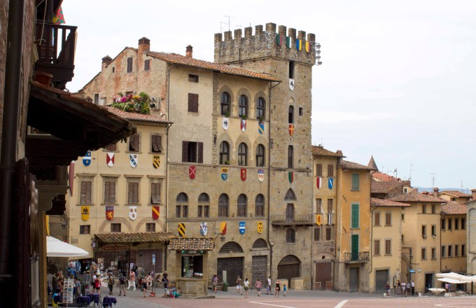 Piagga San Martino, Arezzo