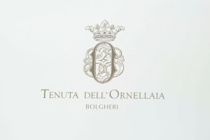 Ornellaia label