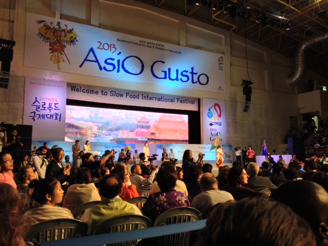 AsiO Gusto – the first international Slow Food festival in Asia