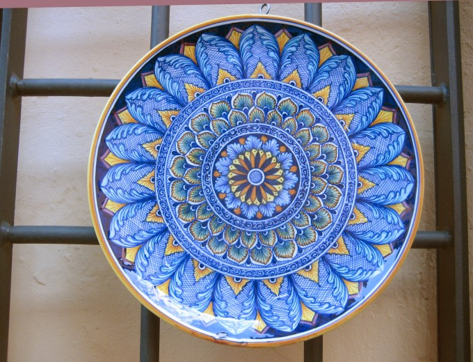 Deruta pottery by Barbara Skinner