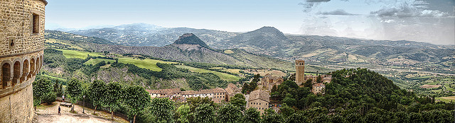 Fortress of San Leo by Anguskirk