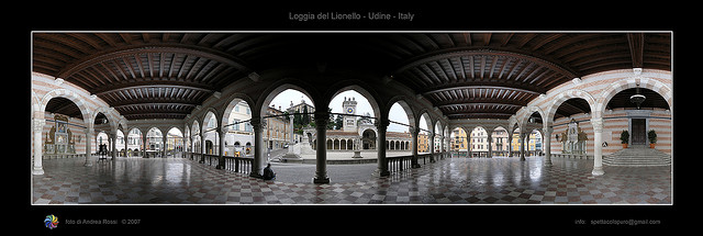 Loggia del Lionello, Udine by Andrea Rossi