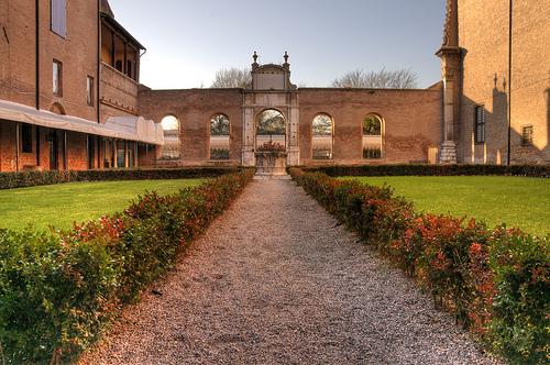 Palazzo dei Diamanti in Ferrarra by Romeo de Gennaro