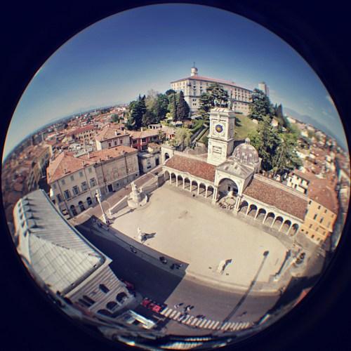 Piazza della Liberta, Udine by Piero Fissore