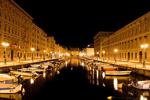 Ponte Rosso, Trieste by Michele Catania