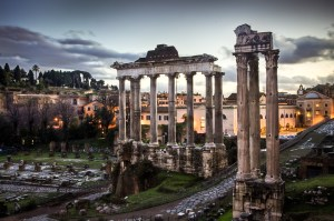 Roman Forum by Benson Kua