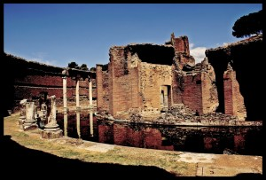 Theatre at Villa Adriana by Adriano Amalfi